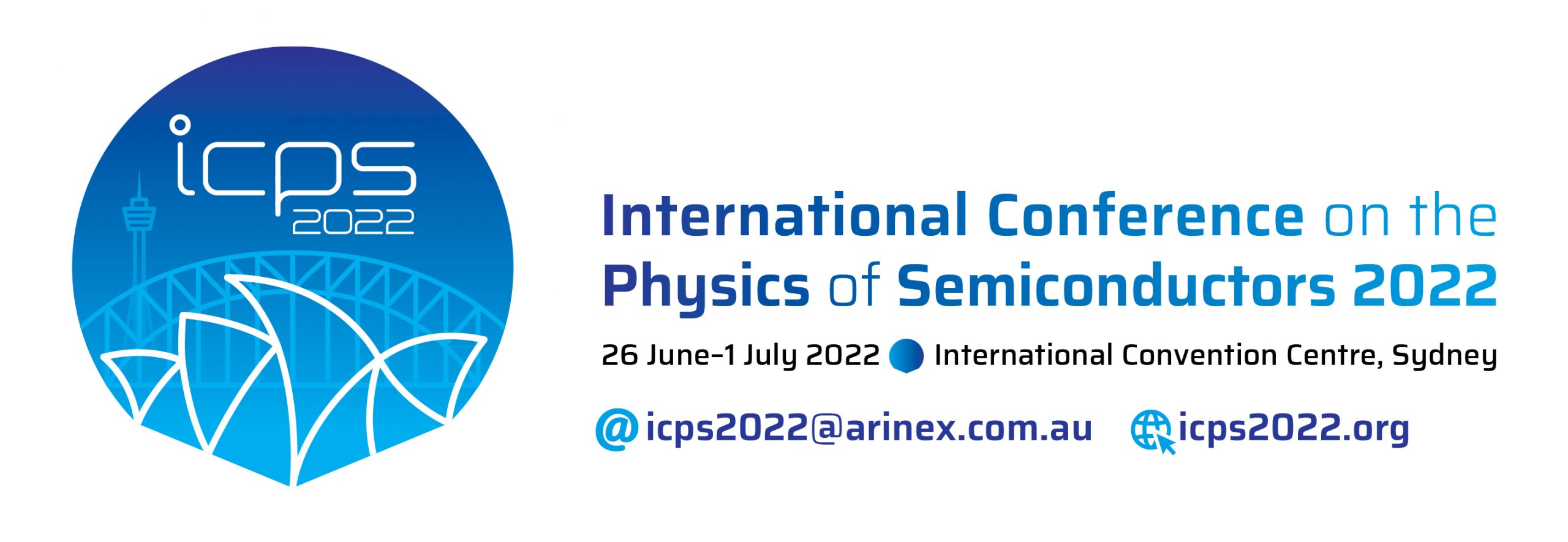 Congress Calendar 2022.Icps 2022 International Conference On The Physics Of Semiconductors 2022 26 June 01 July 2022 International Convention Centre Sydney Australia